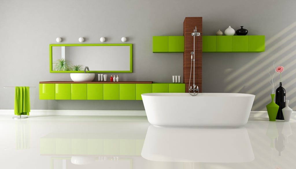 Enhancing The Color Scheme Of Your Bathroom